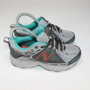 New Balance Women Trail Running Shoes Gray WT510GT